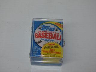 1989 Topps Baselball Cards- 4 Sealed Packs