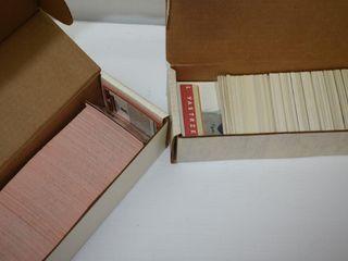 1990 Don Russ Full Set Baseball Cards & Puzzle