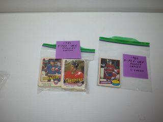 1980 81 O PEE CHEE Hockey Cards