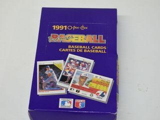 1991 O PEE CHEE Baseball Card Packs