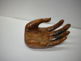 Huge Wooden Hand Decor 14  across