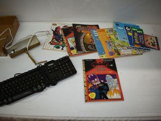 Books  lamp   Keyboard