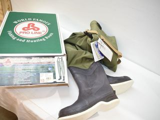 Pro line 3 Ply Wader Sz 10  New with Tags
