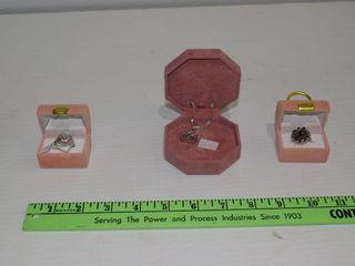 3 Pieces of Jewellery