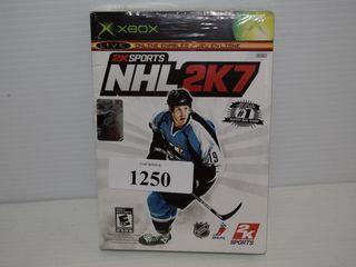 XBOX NHl 2K7 Game sealed