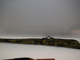 Soft cover camo gun case 54