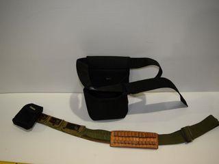 Ammo belt and shell holder