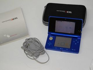 Nintendo 3 DS with Case and Charger