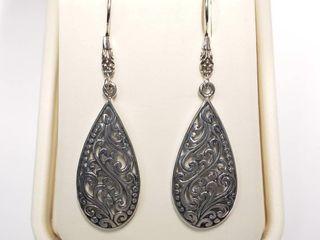 Silver Earrings  BK06 134   D2