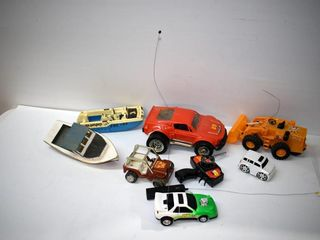 Grouping of Old Toys