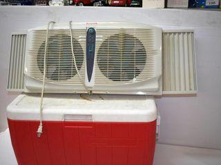 Cooler and Window Fan