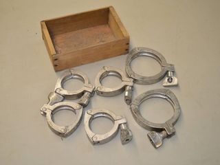 Stainless Clamps  3  and 2