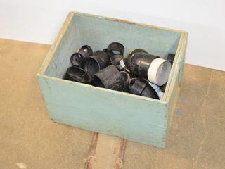 Box of ABS Plumbing Fittings