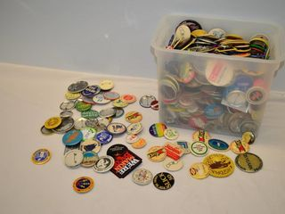 Tote of Assorted Buttons