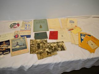 Tray of Souvenir and Informational
