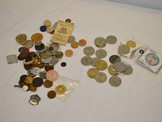 Bag of Assorted Tokens