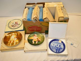 Box of Assorted Collector Plates