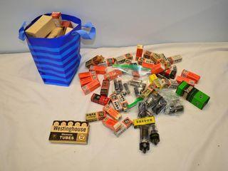Box of Electronic Tubes