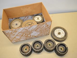 Box of Assorted Wheels