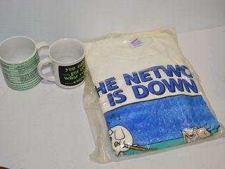 Dilbert  The network Is Down  Sweatshirt l