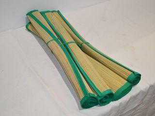 4  Bamboo Mats   28  Wide