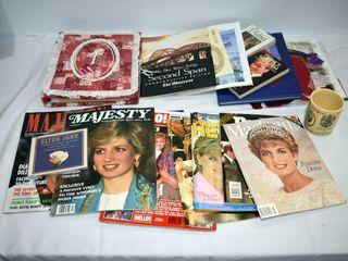 Magazines  lady Di  etc