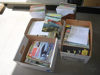 5  Boxes of Model Car Magazines