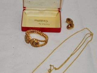Jewelry Set in Case