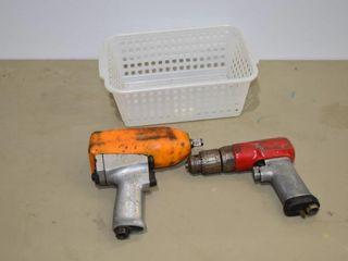 Snap On Air Impact Gun and Air Drill