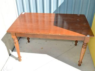 Wooden Table  51  x 30
