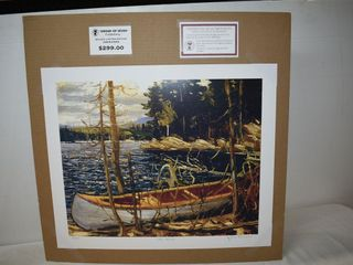 The Canoe by Tom Thomson 674 777