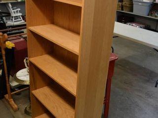 Bookshelf 32  w X 72  tall