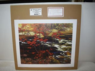 The Red Maple by AY Jackson 503/777