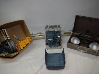 8mm Projector   Screen