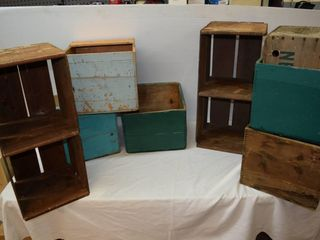 Wooden Crates   Butter Boxes