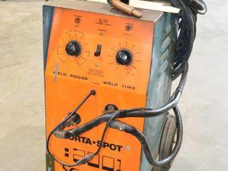 Porta Spot Welder 230 Volt