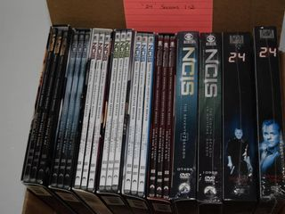 DVDs  TV Series  NCIS Seasons 1 8  7 8 opened