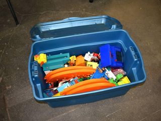 Tote of Kids Toys