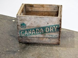 Canada Dry Crate
