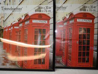 2  Poster Frames 24  x30