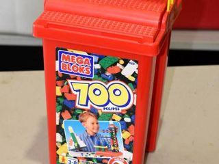 Mega Bloks Container   less than 1 2 full