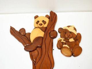 2  Intarsia Bears