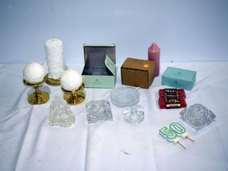 Candles  Holders  etc