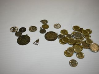Coin Pendants and Casino Tokens
