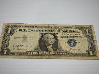 1957 US  1 Silver Certificate