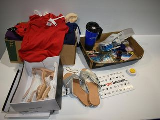 Shoes  Clothing  new  and Miscellaneous Household