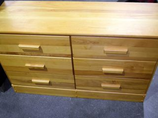 6 drawer maple chest of drawers