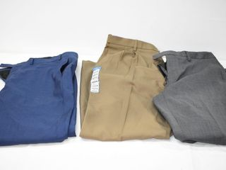 (3) Pair of Dress Pants 38 X 32 & 38X34
