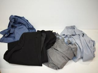 Suit (42S) & Dress Shirts