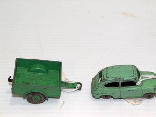 DINKY TOY FIAT and trailer